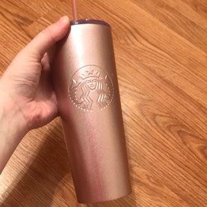 Rose Gold Starbucks cup